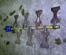 Mfg. Mixing Paddles for Plastics Industry