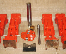 Component Parts of Rebuilt Linkage for Die Cast Industry