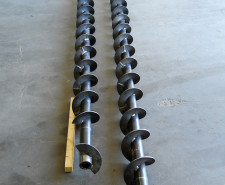 Mfg. Auger for Plastics Industry
