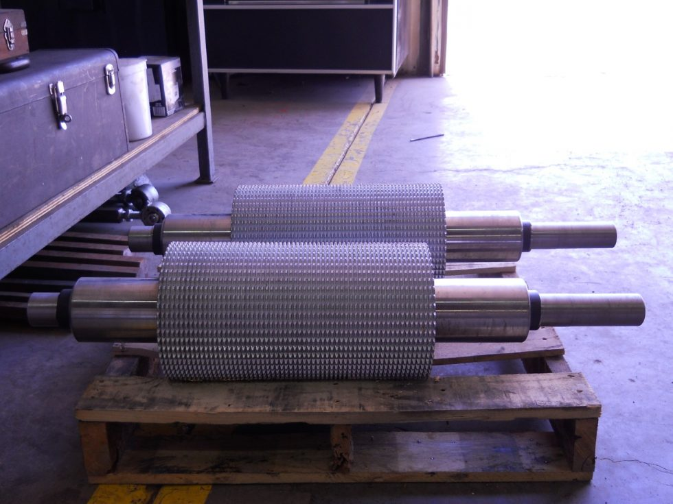 Manufactured Feed Rollers