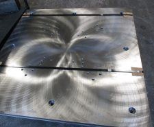 Manufactured Robot Plate