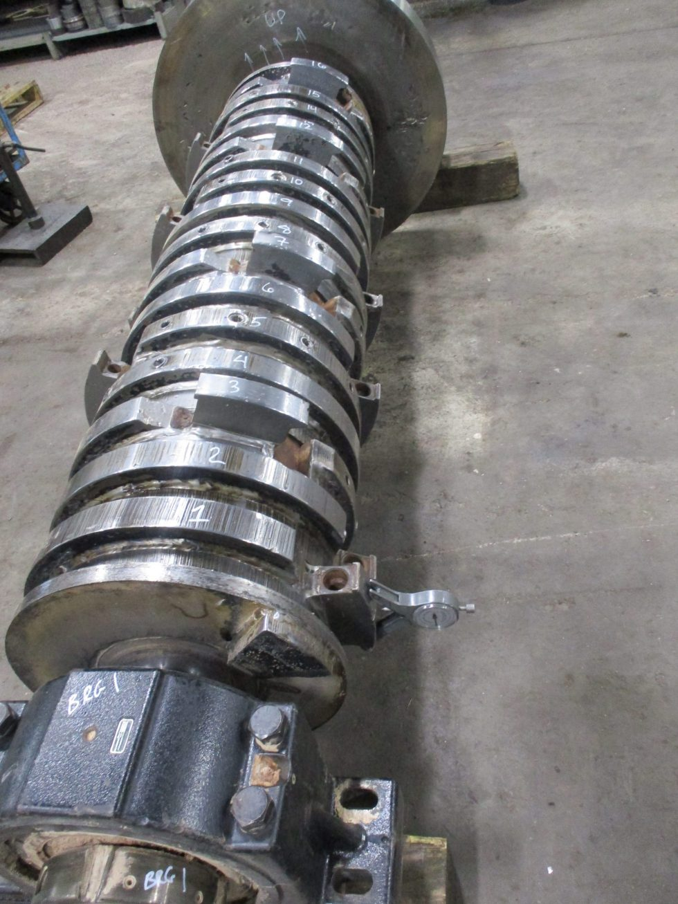 Manufactured Shaft for Hammer Mill Shaft