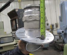 Manufactured Support Ring for Exhaust Part