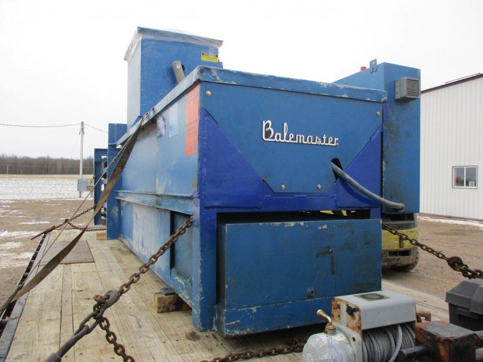 Reinforced Baler Machine End