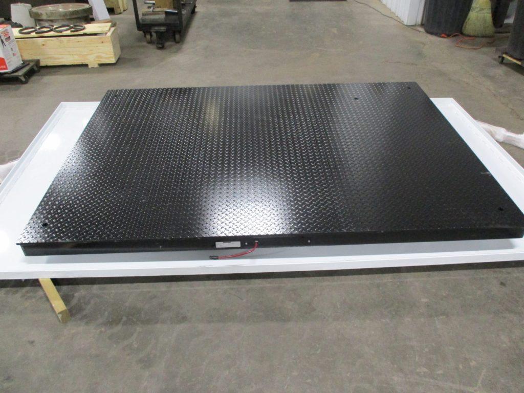 Ground Steel Plate Flat
