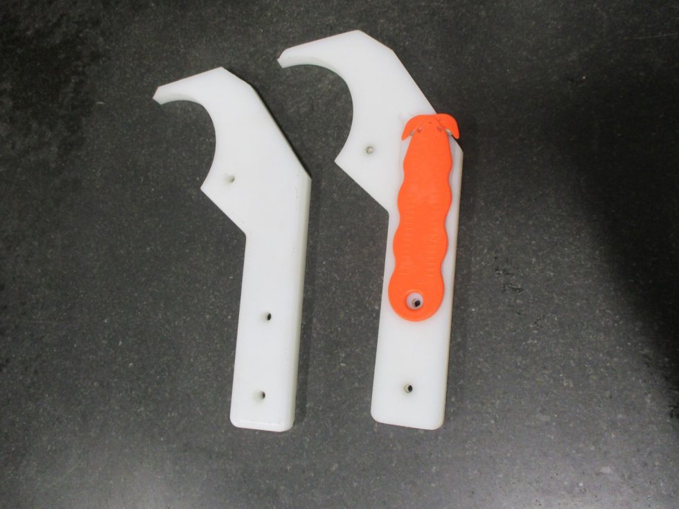 Manufactured Knives For Cutting Plastic